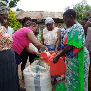 Covid food programme Kibera